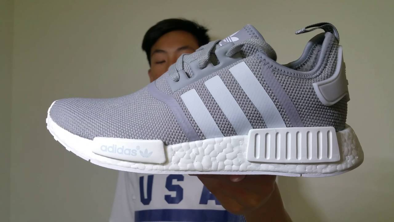 adidas nmd r1 grey white bowtiecause