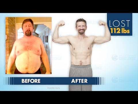Casey Lost 112 Pounds in 1 Year in the Beachbody Challenge!