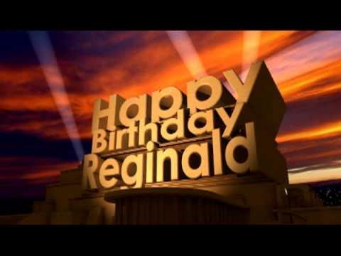 Happy  Birthday Cake For Reggie