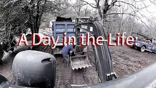 What's a Day like for the Mini Excavator
