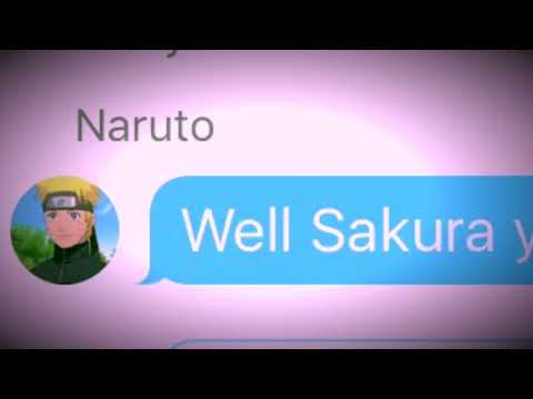 Naruto Group Chat! Naruto And Sakura Beef | Naruto Roasts Sakura