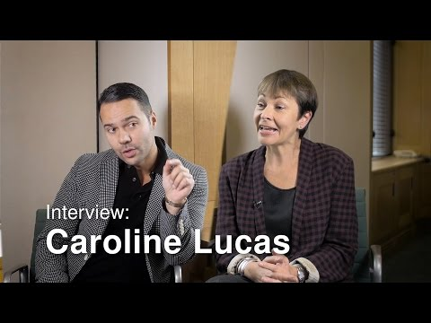 Caroline Lucas on Corbyn, Climate Change and #EURef