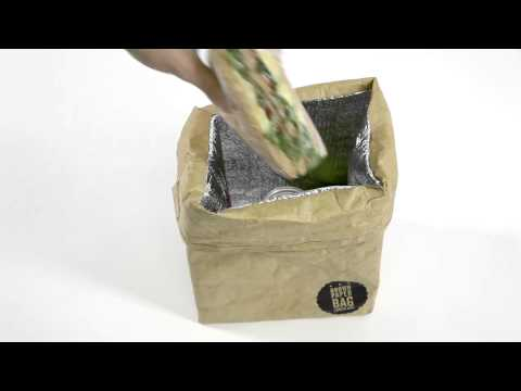 Re-usable Brown Paper Bag Lunch Box