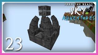 FTB Sky Adventures   Thaumcraft Runic Matrix!   E23 (FTB Skyblock 1.12.2)