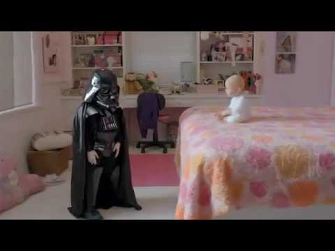 Darth Vadar kid car commercial