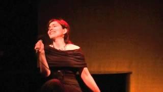 Kristina Lechowski singing