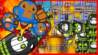 Bloons TD Battles - THEY CAN't HANDLE IT! RAGE QUIT! - Bloons TD Battles R3 Bananza!