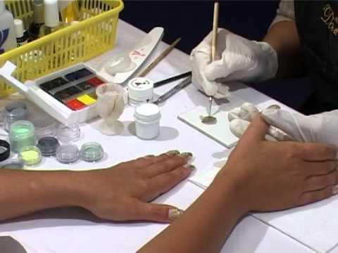 сухой гель на ногтей