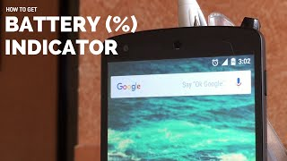 Get Battery Percentage Indicator on Any Android Device | AndroTrix