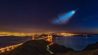 NEW Stunning Photos of UFO Over California?