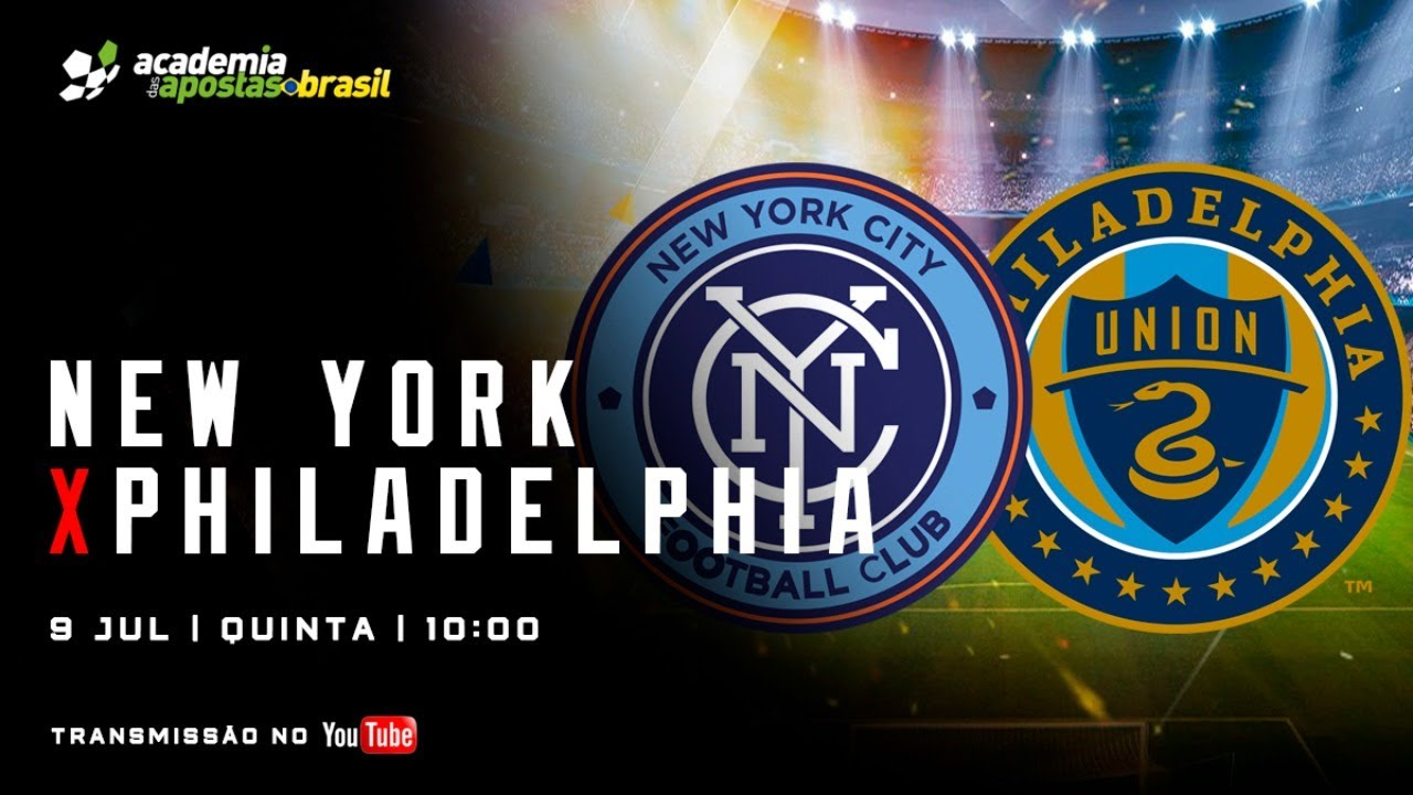 New York City vs Philadelphia Union Ao Vivo - MLS / Acompanhamento