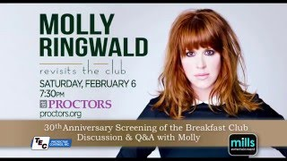 Molly Ringwald Revisits the Club