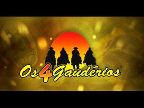 Os 4 Gaudérios - Floreando a Cordeona  No Fandango  1