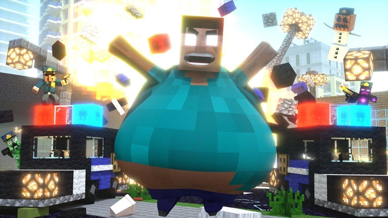 Fat Herobrine Life 3 - Minecraft Animation