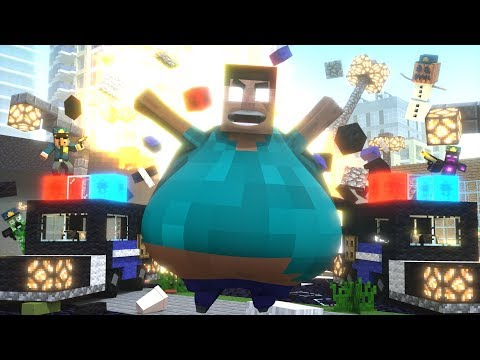 Fat Herobrine Life 3 - Minecraft Animation