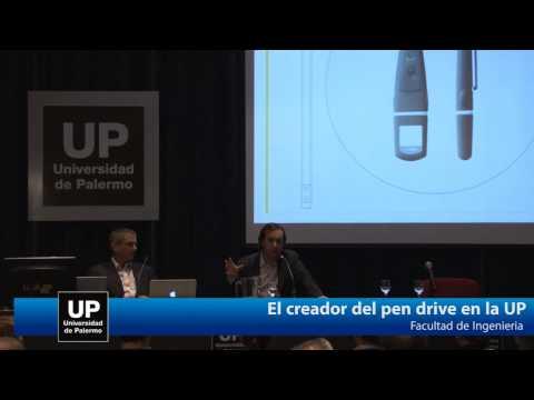 El creador del Pen Drive en la Universidad de Palermo