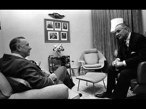 Lyndon B. Johnson  - Interview with Walter Cronkite (Who Killed JFK?)