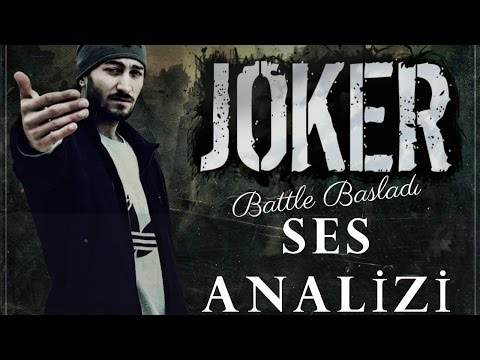 Joker Ses Analizi