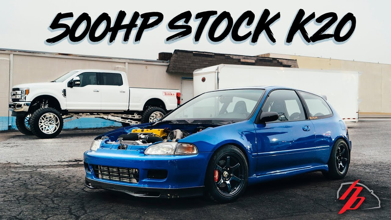 stock k20 gets sent to 500hp without a sweat! youtube stock chevy k20 stock  k20