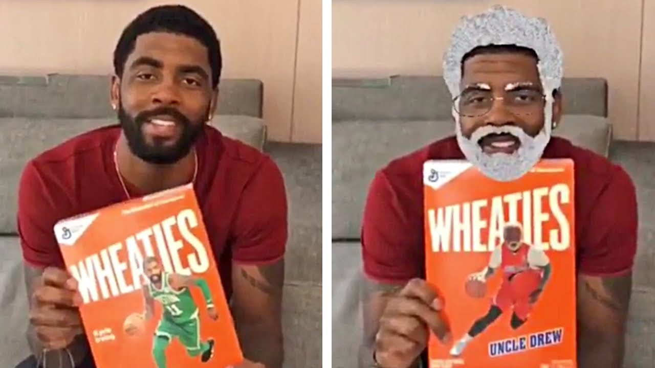 b10825584afa Kyrie irving has a quick message on uncle drew wheaties youtube jpg  1280x720 Uncle drew wheaties