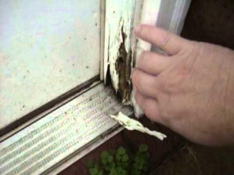 Rotted door jamb  YouTube