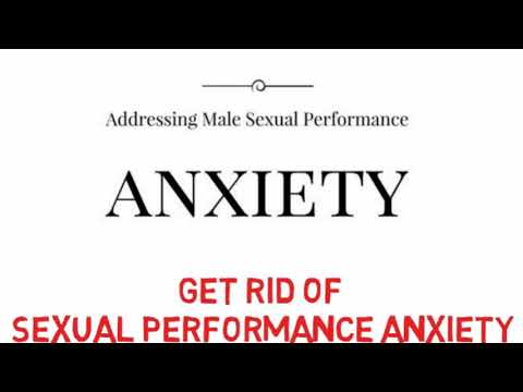 Get Rid of Sexual Performance Anxiety, Binaural Beats with Subliminal Messages