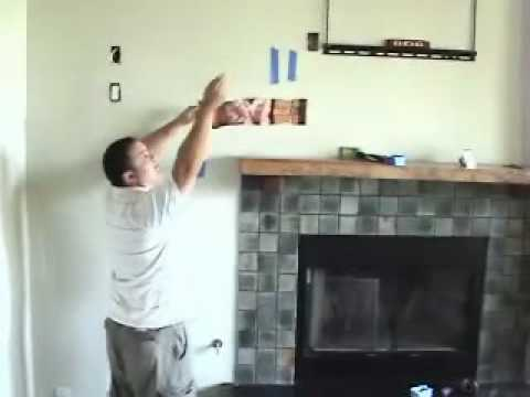 Install Tv Above Fireplace Pt 7 Cables