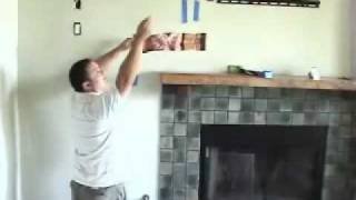 Install Tv Above Fireplace Pt 7- Install Cables
