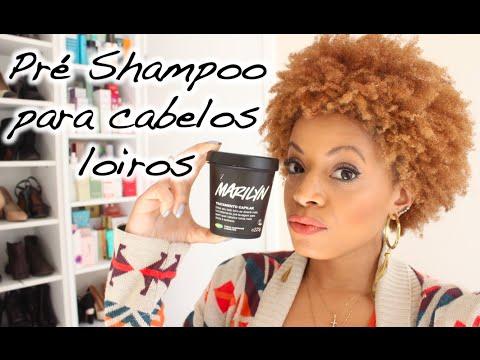 Marilyn Lush   Pré Shampoo para cabelos loiros