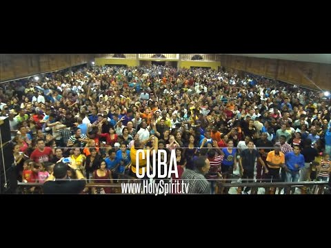 Holy Spirit Youth Revival in CUBA!! Powerful Outpouring of God's Spirit!!