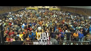 Holy Spirit Youth Revival in CUBA!!  Powerful Outpouring of God's Spirit!! thumbnail
