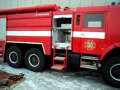 Пожарный КамАЗ.wmv