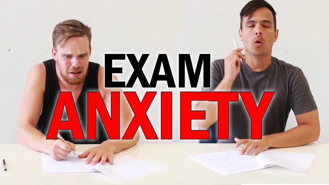 exam anxiety How to beat exam anxiety, psych up for better test-taking - article by mental game coach bill cole.