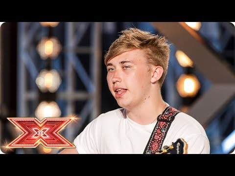 Harry Holmes belts out an original | Auditions Week 3 | The X Factor 2017