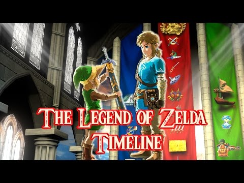 The Legend of Zelda Timeline with Breath of the Wild