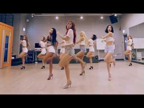 SISTAR 'Shake It' Mirrored Dance Practice