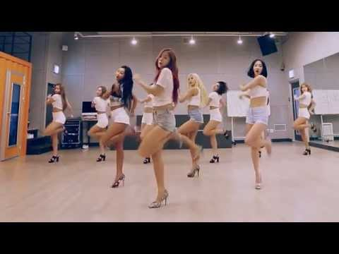SISTAR 'Shake It' mirrored Dance Practice