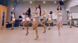 Repeat youtube video SISTAR 'Shake It' mirrored Dance Practice