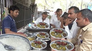 Delicious Roadside Veg & Non Veg Meals | Chicken Rice/Boti Rice/Fish Rice | Street Food Mumbai
