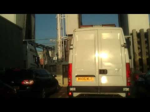 Driving In London - Woolwich Ferry Crossing