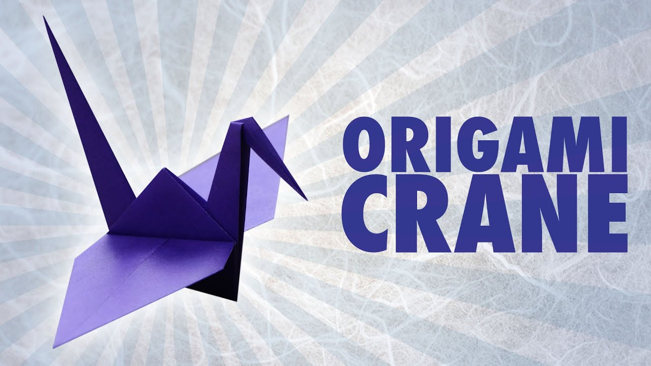 origami paper crane diagram stihl 039 chainsaw parts folding instructions youtube