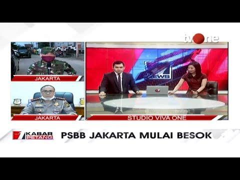 PSBB Jakarta Mulai