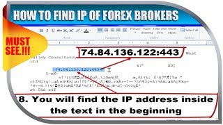 HOW TO FIND IP OF FOREX BROKERS