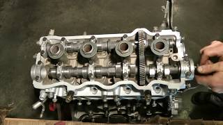 Part 8 (of 10) Engine Assembly 2 of 3 - Rebuild 1994 Toyota Camry Engine & Transmission 5SFE & A140E(Part 8 of 10 Complete engine and transmission overhaul of a 1994 Toyota Camry. This video shows rebuilding/re-assembly of the Engine (#2 of 3). This car had ..., 2012-01-05T04:54:26.000Z)