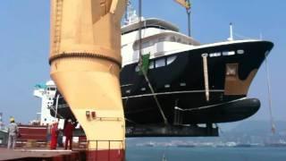 [ Jade Yachts ]Jade 90 Shipping