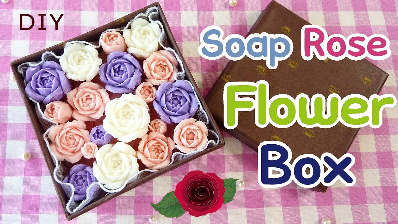 Soap carving how to make a flower box with carved