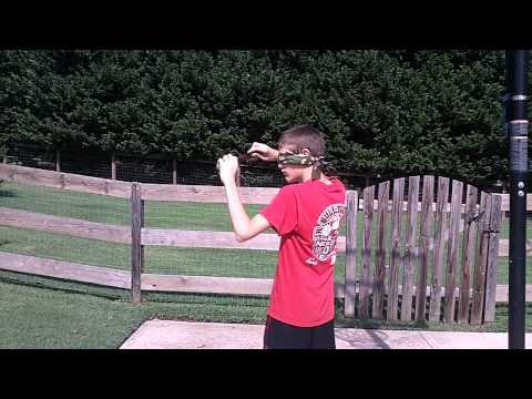 Throwing Knife Accident Youtube