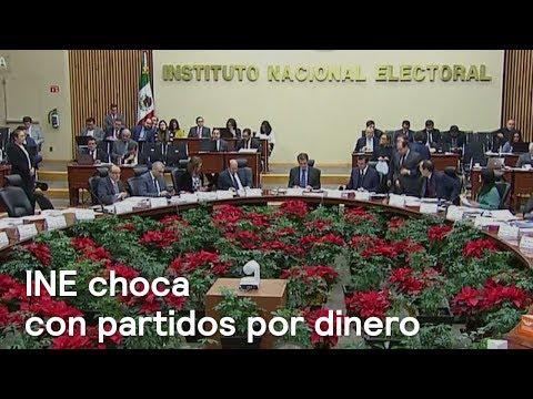 Partidos políticos molestos con INE por reducción a presupuesto - En Punto con Denise Maerker