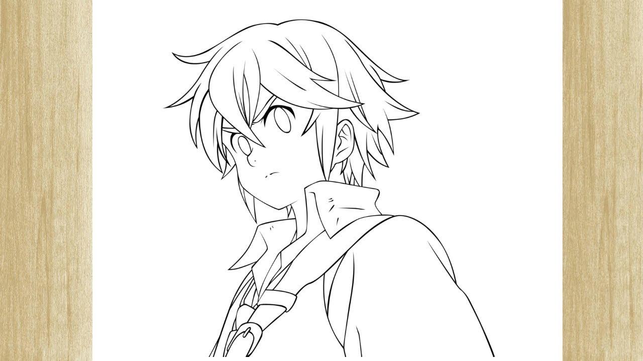 How To Draw Meliodas From Nanatsu No Taizai Como Desenhar O