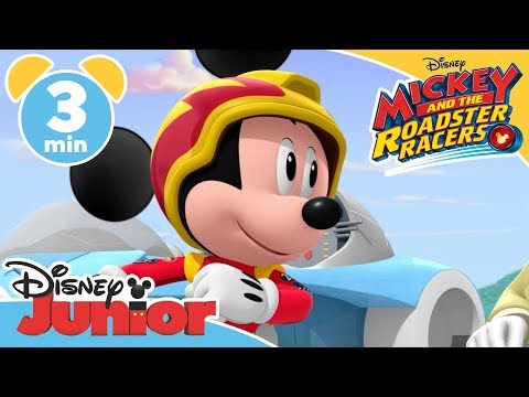 Mickey and the Roadster Racers  Mickey and the Driverless Car!  Magical Moment  Disney Junior UK